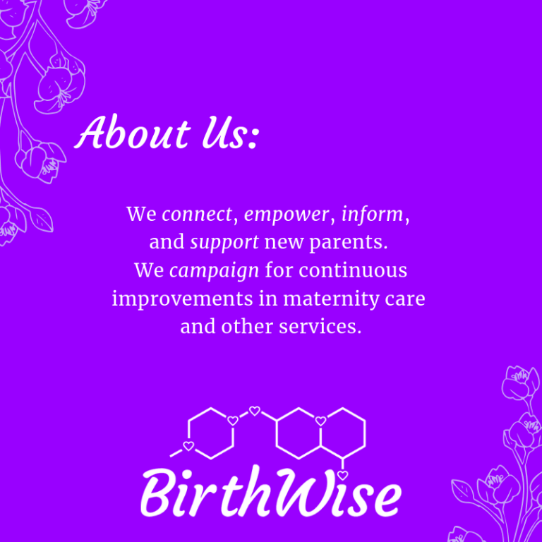 BirthWise is a grassroots movement of expectant and new parents.