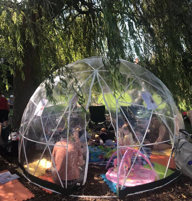 BirthWise Bubble at the Belfast Mela 2019